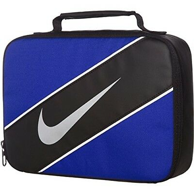 9cbc9fead77b8 NIKE BOY'S REFLECT Insulated Lunch Box Blue Black One Size School ...
