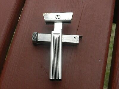 Near Antique Vintage 1926 Schick Repeating Safety Razor Silver Plated Art Deco