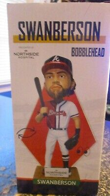 Atlanta Braves Swanberson Bobblehead Bobble Head