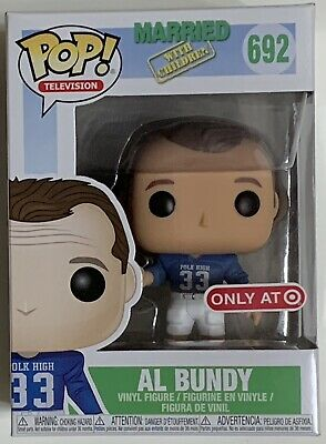 Funko Pop! Television Married With Children AL BUNDY #692 Target Exclusive