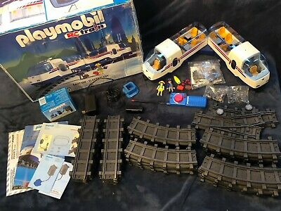 Vintage Playmobil Rc Train Set Playmobil 4020 Rc Train Rare!