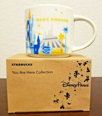 Disney Parks Starbucks You Are Here Disney's Magic Kingdom Retired
