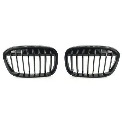 Shiny Black Car Front Kidney Grille Fit for BMW F48 F49 X1 X-Series 2016-2017