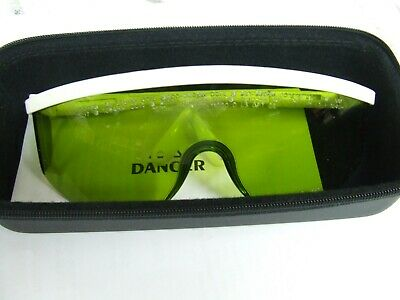 Sperian YAG/CO2 WHT FRM Laser Glasses *New Old Stock*