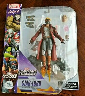 Marvel Select Guardians of the Galaxy Star-Lord Disney Store Exclusive