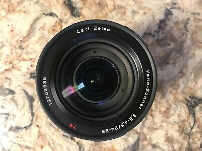 MINT CARL ZEISS 24-85 CONTAX Vario-Sonnar T f3.5-4.5 N1 NX LENS Impeccable Glass