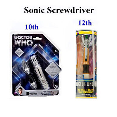 Doctor Who 12th10th Sonic Screwdriver LED Peter Capaldi Light&Sound Props Toys