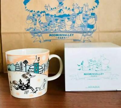Moomin Mug Cup Arabia Moomin Valley Park Limited 2019 NEW F/S Rare Japan