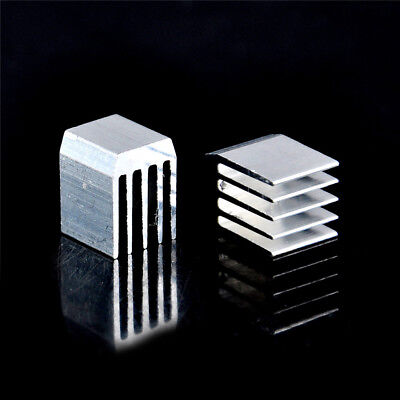 10pcs Aluminum Cooling 9x9x12MM Heat Sink RAM Radiator Heatsink CooleIHS 9H