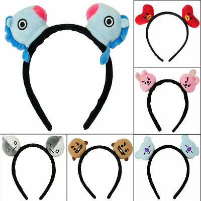 Kpop BTS Headbands Hair Band Tie Bangtan Boys CHIMMY BT21 Tuck Comb Headwear UK