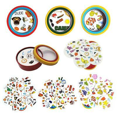 Spot It Kids Game Find It Cards Board Dobble For Family Gathering Party Toys