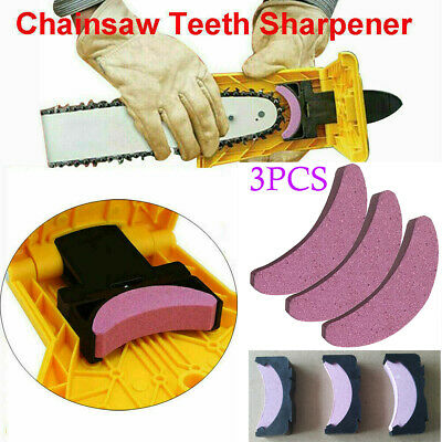 US Woodworking Chainsaw Teeth Chain Saw Sharpener Sharpening Stone Grinding Tool