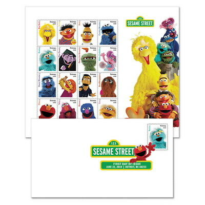 USPS New Sesame Street Keepsake