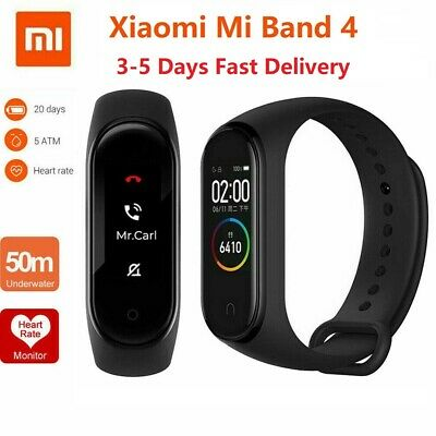 Newest Xiaomi Mi Band 4 Music Smart Bracelet Heart Rate Fitness Tracker UK Stock