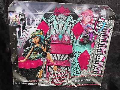 Monster High Frights Camera Action Premiere Party Playset
