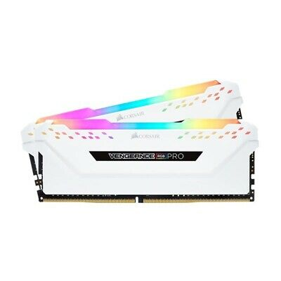 Corsair Vengeance RGB PRO 16GB (2x8GB) DDR4 2666MHz C16 Gaming Memory White