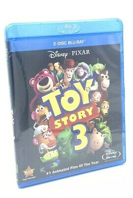 Toy Story 3 (Blu-ray Disc, 2010, 2-Disc Set)  NEW