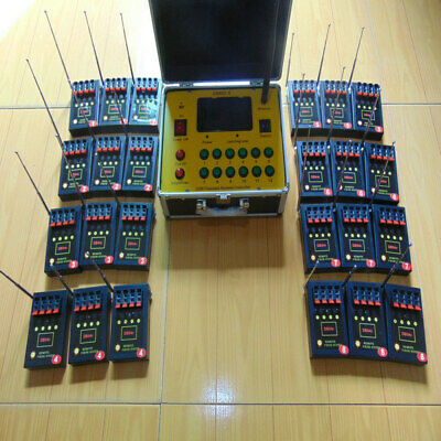 96 Cues fireworks firing system-smart switch-1200channels remote 433MHz program