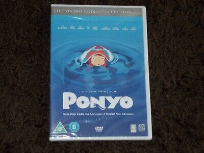 Ponyo - The Studio Ghibli Collection - DVD - 2009 - New & Sealed!