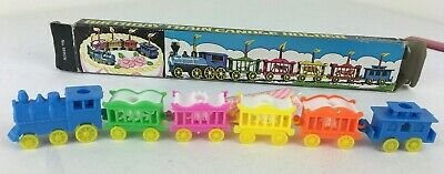 Vintage Cake Decoration / Topper  Circus Train Candle Holder - In Original Box