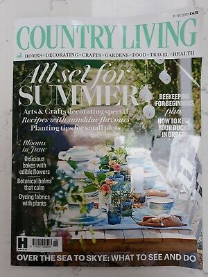 Country Living Magazine - June 19 in Excellent Condition
