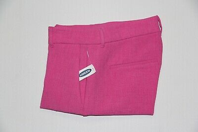 New Old Navy Women's Size 8 Tall Magenta Haze Harper Pants