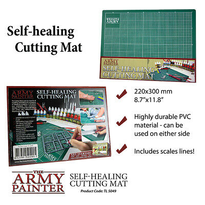 Self Healing Cutting Mat A4 Selbstheilende Estera de Corte Army Painter TL5049