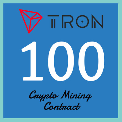 Tron 100 TRX | MINING CONTRACT | Crypto Currency | Top 11 Coinmarketcap