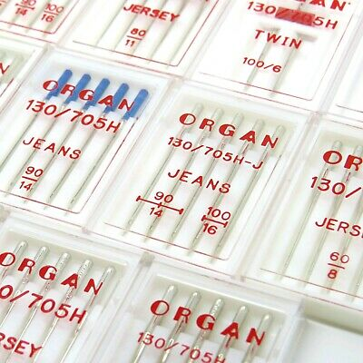 ORGAN Domestic Sewing machine Needles - Jersey, Jean, Twin, Stretch needles