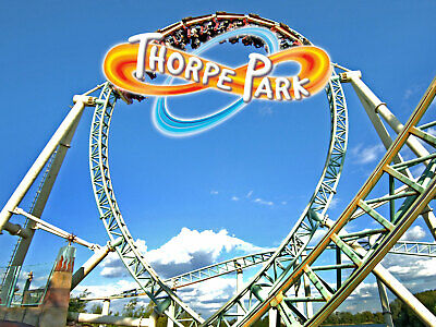 Thorpe Park Resort Tickets | Any Date Available | Massive Savings | E Tickets