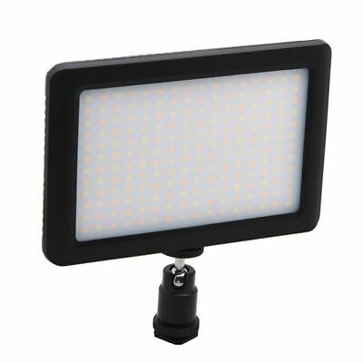 1X(12W 192 LED Studio Video Continuous Light Lamp For Camera DV Camcorder Bla 2Y