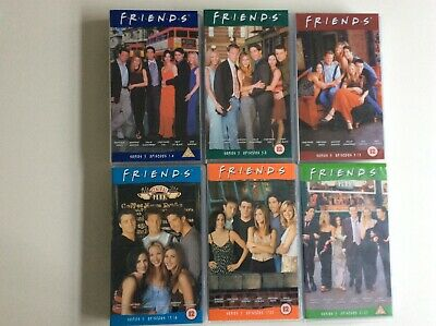 6 FRIENDS vhs videos. Complete Series 5  Episodes 1-23