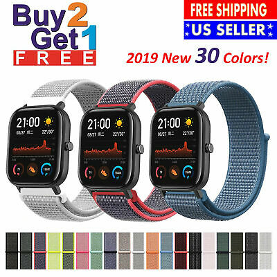 Woven Nylon Band for Apple Watch Sport Loop Watch Series 4 3 2 1 38 42 40 44mm
