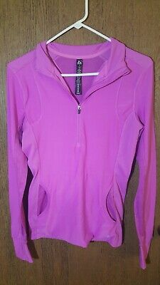 95b7d46c FILA SPORT WOMEN'S Athletic Performance Pullover Shirt 1/4 Zip Size ...