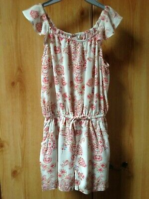 Next Girls Summer Playsuit with 2 x Pockets Age 6 Years