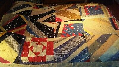 Antique Quilt double sided heavy