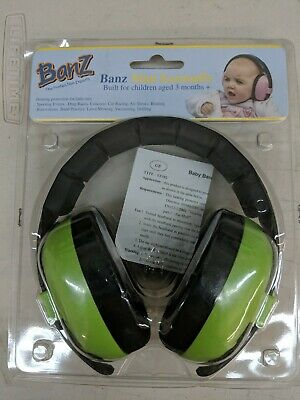 Baby Banz mini earmuffs Lime
