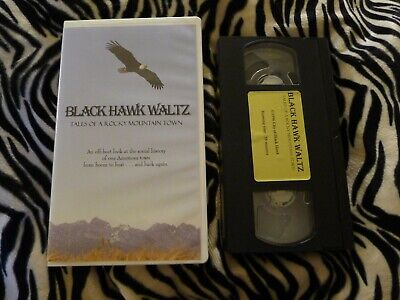 Black Hawk Waltz VHS Colorado 1996 History ROCKY MOUNTAIN TOWN Gold Rush