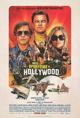Once Upon a Time in Hollywood Intl  Original Movie Poster Double Sided 27x40