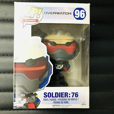 Funko Pop! Overwatch #96 Soldier: 76 Gamestop Exclusive No Sticker