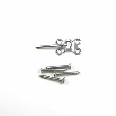 """10pc Set-Stainless Steel Butterfly Deck Toggle End Fitting for Cable Rail 1/8"""""""