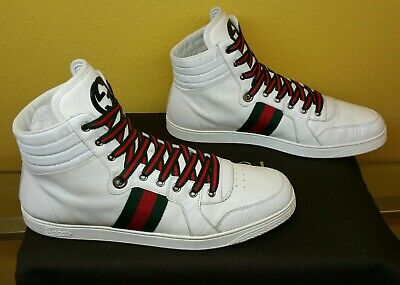 cee864976 Authentic Gucci shoes mens 221825 size 10.5g 11.5u.s, Gucci sneakers mens  white