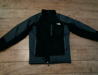 THE NORTH FACE Mens Waterproof Jacket. Size L. Warm. Black And Grey Colour