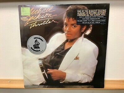 Michael Jackson Thriller LP Record Orig. 1982 Press Hype Sticker QE 38112 SEALED