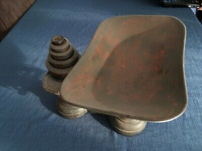 Antique Grocery Food Weighing Scales