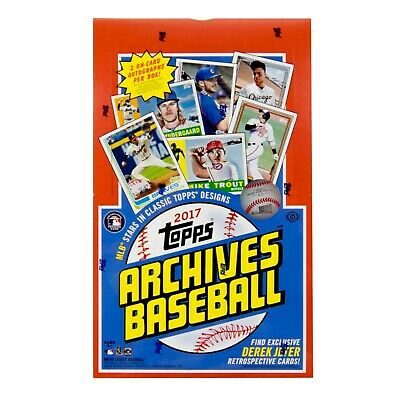 2017 Topps Archives Baseball Complete Your Set Pick 25 Cards From List