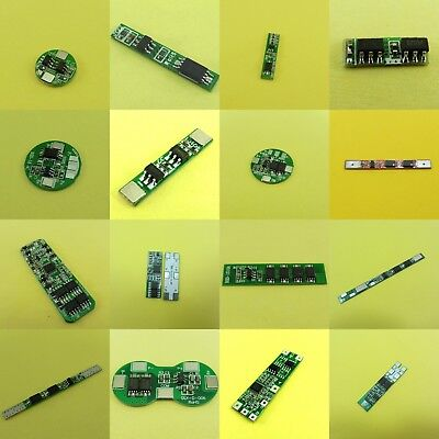 1-10A 18650 Protection Boards 1/2/3 CELL Battery Li-ion Lithium BMS PCB 1,2,3S