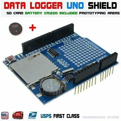 Recorder Data Logger Module Logging Shield XD-05 For Arduino UNO SD Card RTC