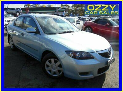 2006 Mazda 3 BK Neo Blue Automatic 4sp A Sedan