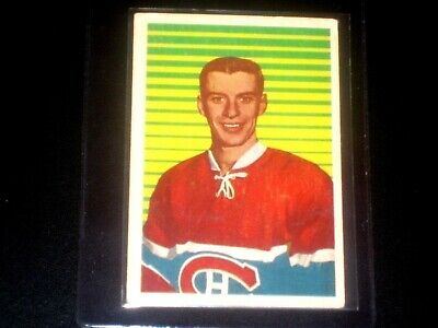 1963-64 Parkhurst Hockey Card# 37 Marc Reaume (Montreal Canadiens)  Ex